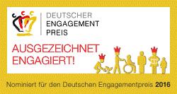 Nominiert für den Deutschen Engagementpreis 2016